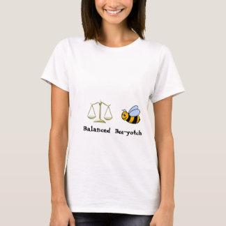 Camiseta equilíbrio, bumble_bee, equilibrado, Abelha-yotch