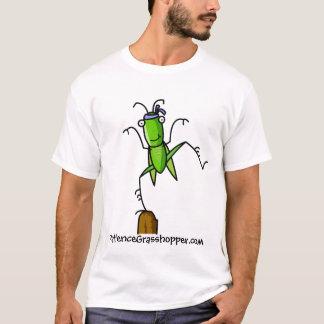 Camiseta Equilíbrio do gafanhoto da paciência