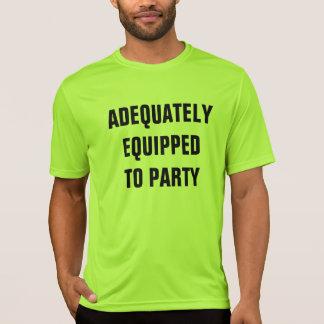 Camiseta equipado
