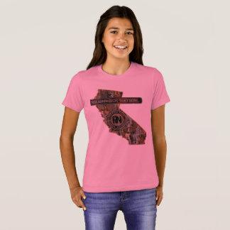 Camiseta EQUIPAMENTO de Califórnia ACIMA de CAMO