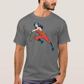 Camiseta Equipamento do vermelho da mulher maravilha