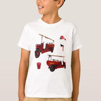 Camiseta Equipamento dos bombeiros do vintage,