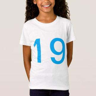 Camiseta Equipe 19.