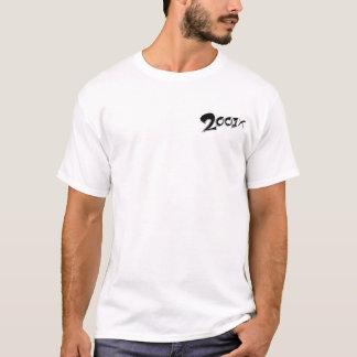 Camiseta equipe 2001x