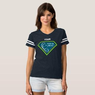 Camiseta Equipe a mais #FedIsBest