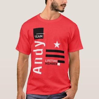 Camiseta Equipe Andy