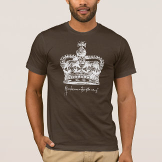 Camiseta Equipe Aragon - coroa e assinatura de Catherine