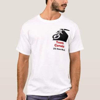 Camiseta Equipe Canadá 24 Unicycle da montanha da hora