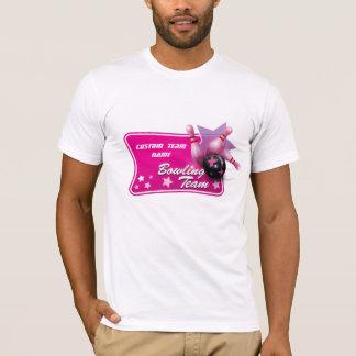 Camiseta Equipe customizável feminino da boliche