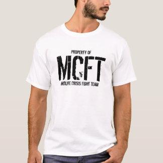 Camiseta Equipe da luta da crise do Midlife