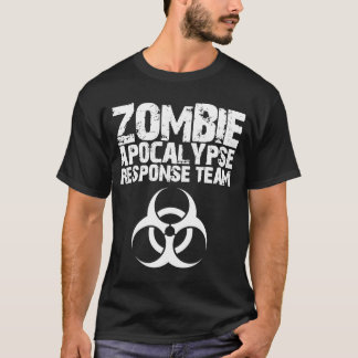 Camiseta Equipe da resposta do apocalipse do zombi do CDC