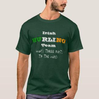 Camiseta Equipe de arremessão irlandesa, sempre três pintas