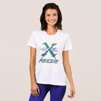 Camiseta Equipe de cerco de Xcel • T-shirt do desempenho