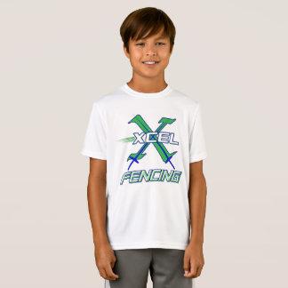 Camiseta Equipe de cerco de Xcel • T-shirt do desgaste do