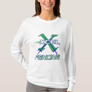 Camiseta Equipe de cerco de Xcel • T-shirt longo da luva