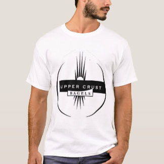 Camiseta Equipe de Co-Ed Softeball do Bagel da crosta