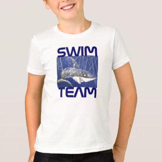 Camiseta equipe de natação