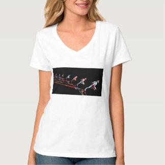 Camiseta Equipe dinâmica do negócio e organização das