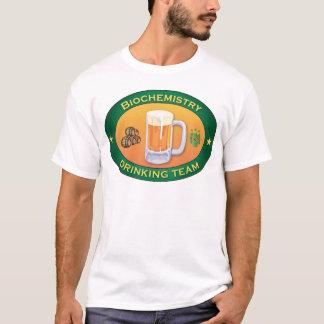 Camiseta Equipe do bebendo da bioquímica