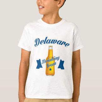 Camiseta Equipe do bebendo de Delaware