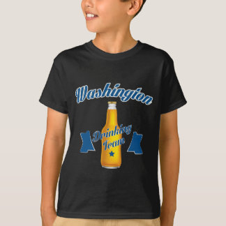 Camiseta Equipe do bebendo de West Virginia