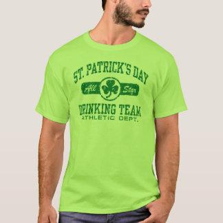 Camiseta Equipe do bebendo do dia de St Patrick
