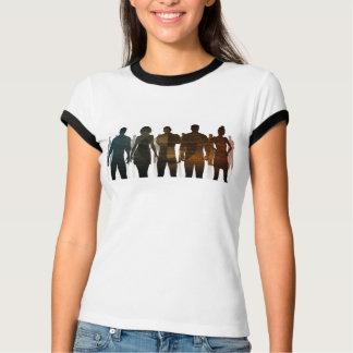 Camiseta Equipe do negócio dos profissionais que estão para