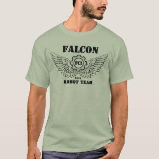 Camiseta Equipe do robô do falcão