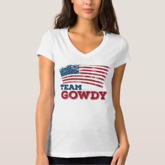 Camiseta Equipe Gowdy