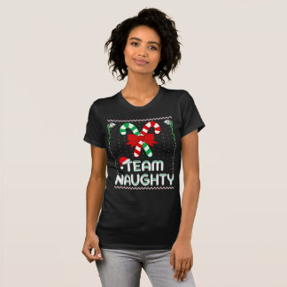 Camiseta equipe impertinente do Natal