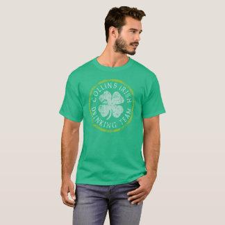 Camiseta Equipe irlandesa do bebendo de Collins