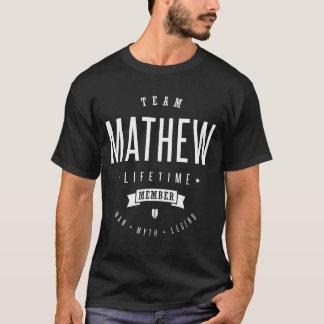 Camiseta Equipe Mathew