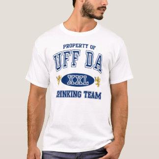 Camiseta Equipe norueguesa do bebendo de Uff a Dinamarca
