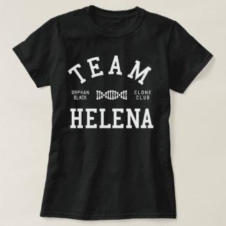 Camiseta Equipe preta órfão Helena