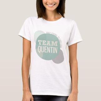 Camiseta Equipe Quentin - forte construído a último longo
