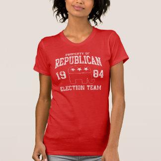 Camiseta Equipe republicana retro 1984 da eleição