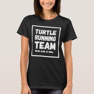Camiseta Equipe running da tartaruga nós somos lentos como