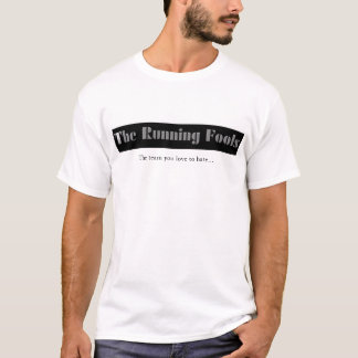 Camiseta Equipe Running de Footbal da fantasia dos tolos