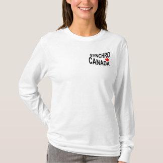 Camiseta Equipe Synchro dos mais velho de Canadá