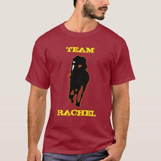 Camiseta Equipe total Rachel da dominação (marrom/ouro)