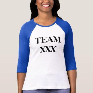 Camiseta EQUIPE XXX -- Alface romana de Mitzi