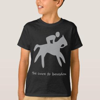 Camiseta Equitação ...... a cura ao enfado
