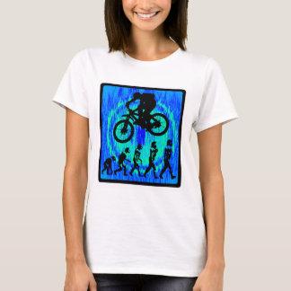 Camiseta Equitação da alma da bicicleta