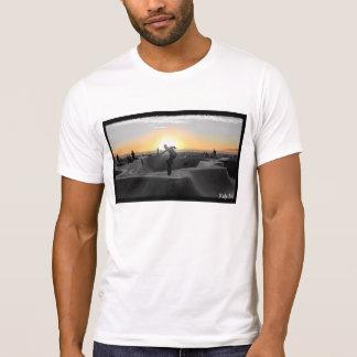 Camiseta Equitação nova no por do sol