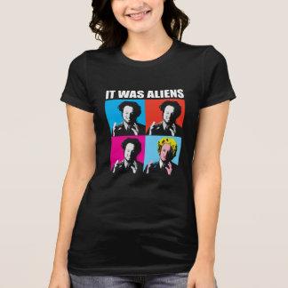 Camiseta Era aliens