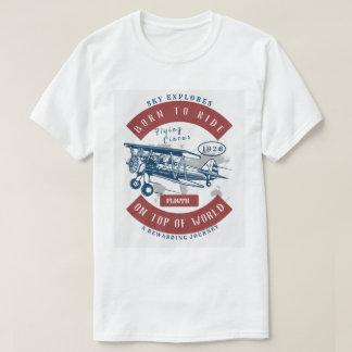 Camiseta Era romântica da aviação