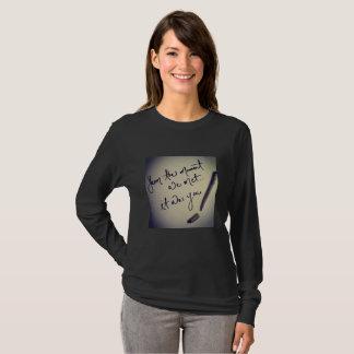 Camiseta Era você