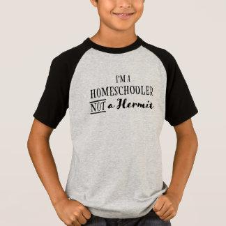 Camiseta Eremita de Homeschooler não - o t-shirt do miúdo