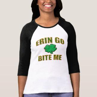 Camiseta Erin vai morde-me