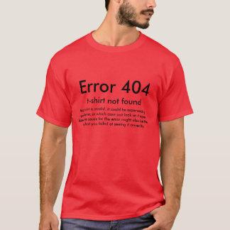Camiseta Erro 404